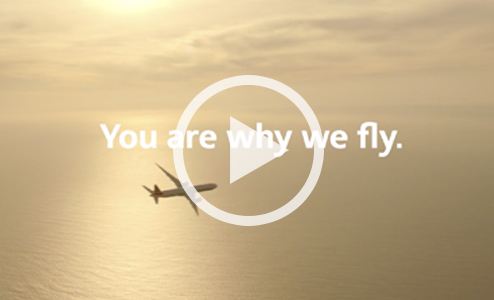You are why we fly